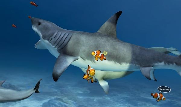 Tubarão em VR